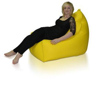 Fotel Glamour XXL Polskie Pufy - 2844591419
