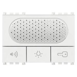 Domofon Due Fili z przyciskami funkcyjnymi, bia - 2860884435