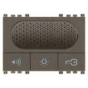 Domofon Due Fili z przyciskami funkcyjnymi, metal - 2860884655