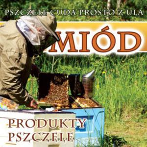 Baner reklamowy Miód produkty pszczele BR18 1x1 - 2423580821