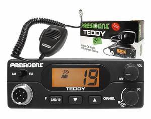 CB Radio President TEDDY AM-FM ASC - 2837576273