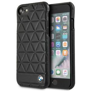 BMW Hexagon Case - Etui skórzane iPhone 8 / 7 (czarny) - 2875573408