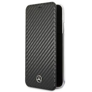 Mercedes Dynamic Line Book - Etui Samsung Galaxy S9+ z kieszeniami na karty (czarny) - 2875573435