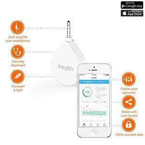 iHealth Align Gluco - Elektroniczny glukometr (iOS/Android)