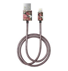 iDeal Fashion Cable - kabel lightning 1 m (Antique Roses) - 2859481408