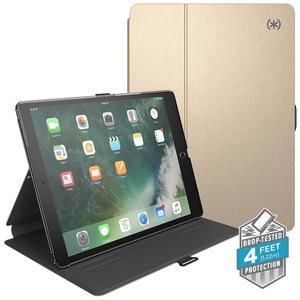 """Speck Balance Folio Metallic - Etui iPad 9.7"""" (2018/2017) / iPad Air 2 (złoty/szary) - 2881890712"""