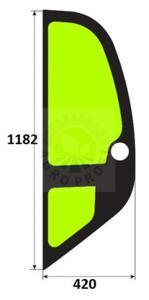 szyba boczna lewa do MANITOU MLT 523, 526, 627, 629, 630, 633, 634, 730, 731, 735, 740, 741, 742, 1033 MT 523, 620 MTV 1232 - 2860197543