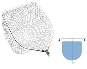 Podbierak Jaxon Spinning Nylon Net - 2822725076