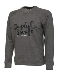 Sweter Savage Gear Sweater Melange Grey XL - 2862511668