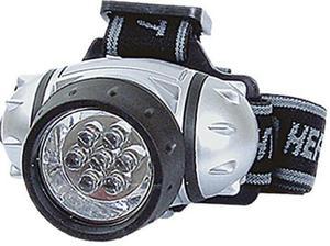 Latarka czołówka diodowa LED Round LED JAXON do założenia na czoło. - 2822724732