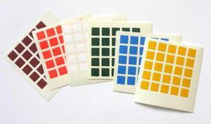 Naklejki na kostkę Rubika 5x5x5 - 2832630070