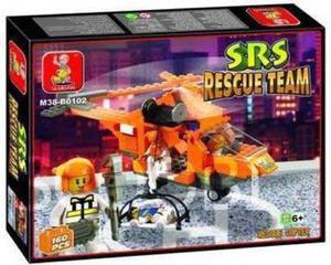 Klocki Sluban SL0102 Air Rescue Copter - 2832630075