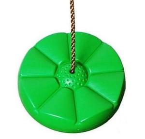 Huśtawka Kwiatek , siedzisko plastikowe - jasno zielona - 2832630098