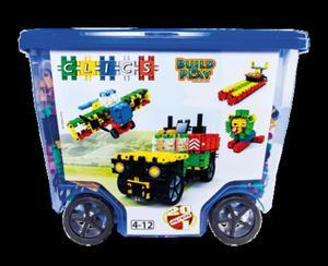 CB606 Klocki konstrukcyjne CLICS Rollerbox 20w1 - 2838507410