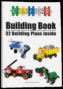 CP017 Klocki Clics plany budowy 32w1 - 2846891006