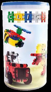 CK034 Klocki konstrukcyjne CLICS 5w1 tuba - 2841504750