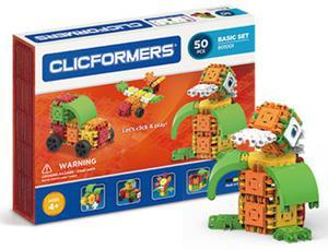 801001 Klocki CLICFORMERS 50 elementów - 2852505004