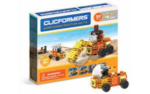 804001 Klocki CLICFORMERS 4w1 30el. Maszyny budowlane - 2874680526