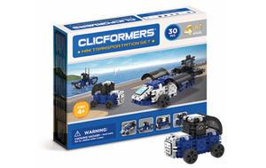 804002 Klocki CLICFORMERS 4w1 30el. Transportowce - 2874680527