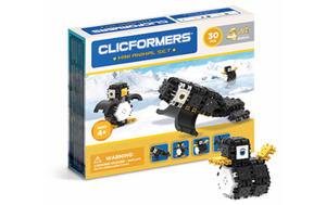 804004 Klocki CLICFORMERS 4w1 30el. Arktyczne zwierzęta - 2874680529
