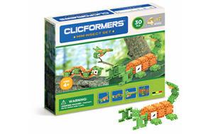 804005 Klocki CLICFORMERS 4w1 30el. Insekty - 2874680530