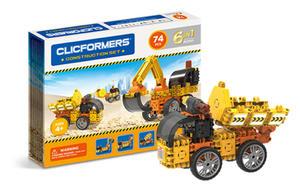 802001 Klocki CLICFORMERS 6w1 74el. Maszyny budowlane - 2875300779