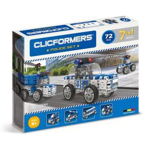 802002 Klocki CLICFORMERS 7w1 72el. Policja - 2875300780