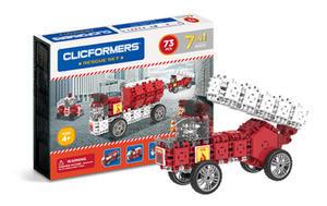 802003 Klocki CLICFORMERS 7w1 73el. Straż Pożarna - 2875300781