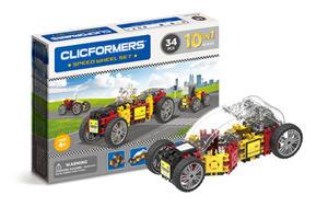 803001 Klocki CLICFORMERS 10w1 34el. Pojazdy - 2875300782