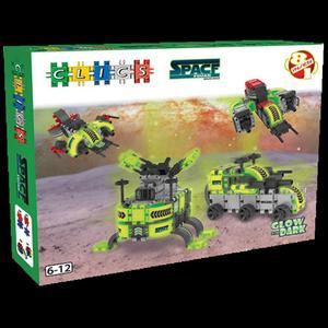 BC008 Klocki CLICS Space Squad box 8w1 - 2877069634