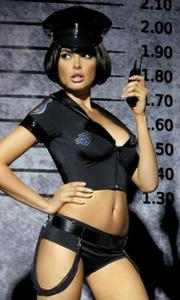 Police set seksowny strój policjantki - 2831087477