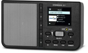 STERNRADIO IR1 czarne radio internetowe TechniSat - 2858729903