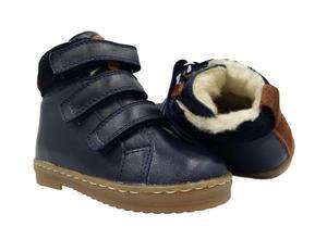 Trzewiki kozaki zimowe MIDO 709/809 Granat - 2861181271