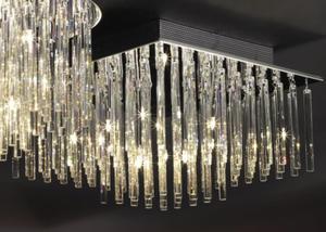 Plafoniera kryształowa SPILLO Italux MX51113-10A chrom - 2832096220