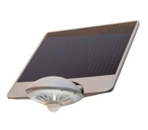 Lampa zewnętrzna DROP solarna KINKIET srebrna SU-MA P9013 LED - 2832097412