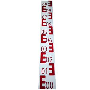 Łata wodowskazowa, grawerowana (1mb) - 2101956295