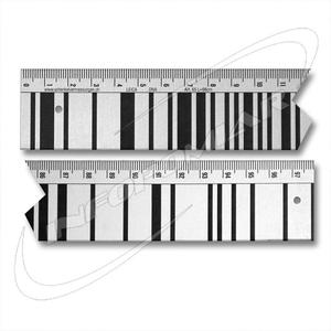Łata kodowa do niwelatorów leica 1,0 m - 2101956297