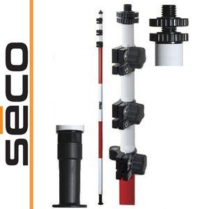 Tyczka pod lustro / GPS - SECO 4,60m, fiberglass - 2101956920