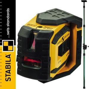 STABILA LAX 300 Laser punktowo-liniowy + LT30 podpora teleskopowa - 2101956937