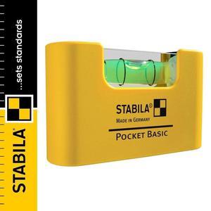 Poziomica kieszonkowa STABILA POCKET BASIC - 2101956999