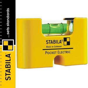 Poziomica kieszonkowa magnetyczna STABILA POCKET ELECTRIC - 2101957004