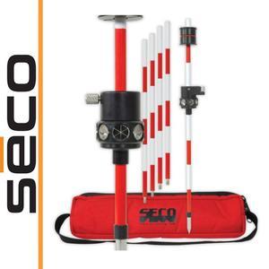 SECO Zestaw przymatyczny przesuwany 360 stopni + 4x tyczki 30cm / 120cm - 2101957144