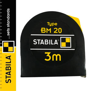 Miara zwijana stalowa z blokadą Stabila BM 20 3m - 2843885918