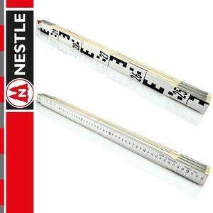 NESTLE Przymiar składany do niwelacji 3m, miarka / 6 x 50 cm - 2852725012