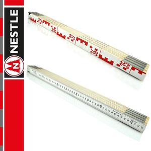 NESTLE Przymiar składany do niwelacji 4m, miarka / 8 x 50 cm - 2852725013