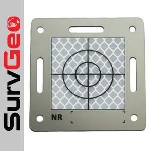 Tarcza aluminiowa z folią i celem 80x80 mm - 2854945425