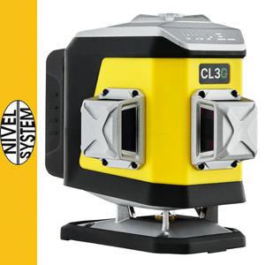 Laser krzyżowy Nivel System CL3D-G - 2873704765