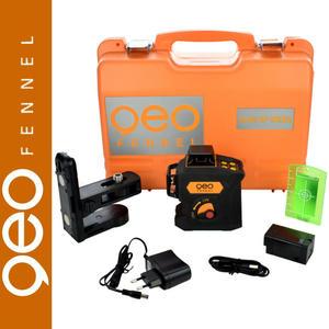 360° geoFENNEL laser płaszczyznowy Geo6X Zielony - 2878726607