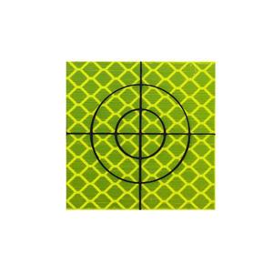 Zestaw 50szt. - Folia dalmiercza żółta 20mm x 20mm - 2881102719