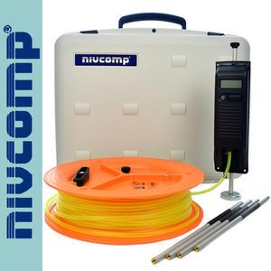 Poziomnica wężowa elektroniczna nivcomp H-25-PRO z tyczkami - 2101956042
